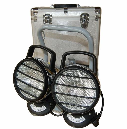 [中古品]日動工業株式会社 リチウムイオンバッテリーライト HIDW35-2L1B+LBL-35W-W 2個 作業灯 投光器 充電式 照明【YDKG-kd】[送料無料(一部地域を除く)]