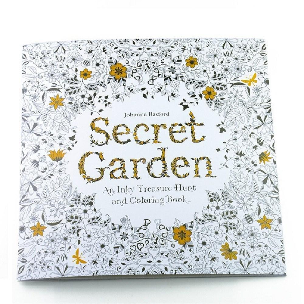 塗り絵 Secret Garden 出群 大人のぬりえ 秘密の花園 送料無料 smtb-KD 数量限定アウトレット最安価格 代引不可 定形外郵便