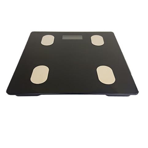 スマート体重計 《ブラック》 スマホ 爆安 連携 対応 アプリ 体重管理 一部地域を除く BMI 数量限定 送料無料 基礎代謝 体脂肪