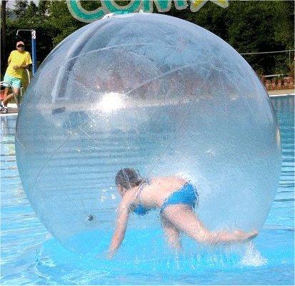 イベントに最適! 水の上を歩けるアクアボール 約2m 巨大 ウォーターボール[送料無料(一部地域を除く)]