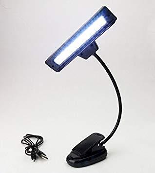 USB単4型電池3本 2電源対応クリップ式LED10灯譜面台ライト 高品質 smtb-KD 楽器 代引不可 激安通販 定形外郵便 送料無料