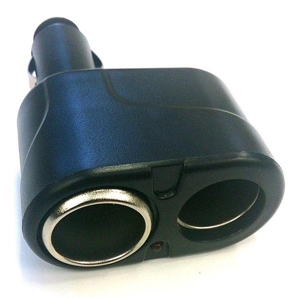 12V 24V対応 おすすめ特集 シガーソケット2分配器 12V車 24V車 定形外郵便 送料無料 格安 代引不可 smtb-KD