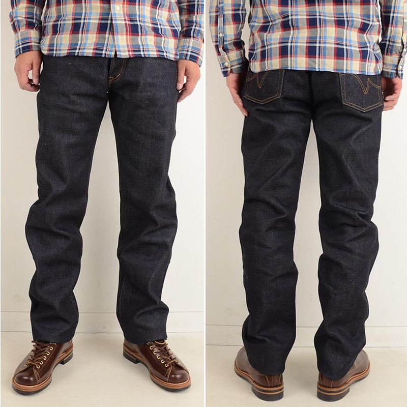IRON HEART 634 made in Japan 21oz denim jeans regular straight one wash