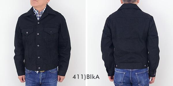 甘蔗甘蔗 SC1348913oz 黑色牛仔夾克牛仔夾克男式牛仔褲男