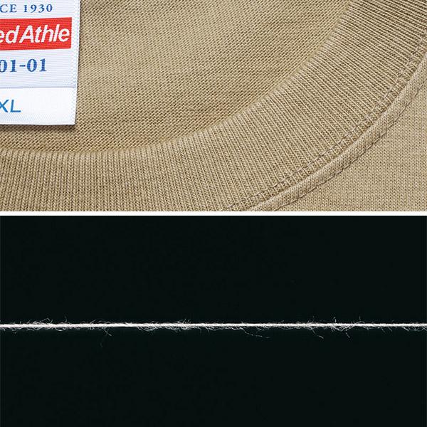 United Athle yunaiteddoasure 5001-01[r7s]5.6盎司高質量T恤素色短袖