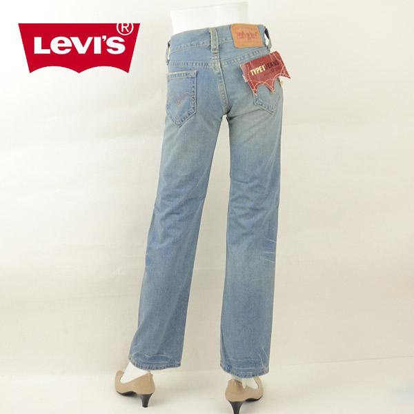 【1500円OFFクーポン有】Levi's リーバイス 921-1063 TYPE1 JEANS ストレートジーンズ デニム レディース[訳有り/在庫処分]女性 ブランド キャッシュレス 消費者還元 DEAL