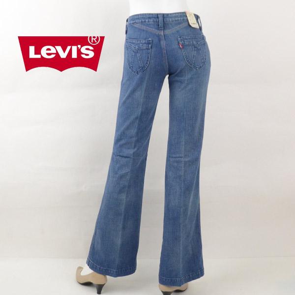【1500円OFFクーポン有】Levi's リーバイス F3356 Saddle Stitch サドルステッチ デザインポケットフレアデニム ブーツカット ジーンズ レディース[訳有り/在庫処分]女性 ブランド キャッシュレス 消費者還元 DEAL
