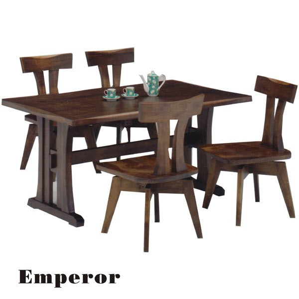 Luxury solid wood dining table stylish Scandinavian simple modern rectangular dining set dining 5 points set dining tables sets dining wood four-seat ...  sc 1 st  Rakuten & variefurni | Rakuten Global Market: Luxury solid wood dining table ...
