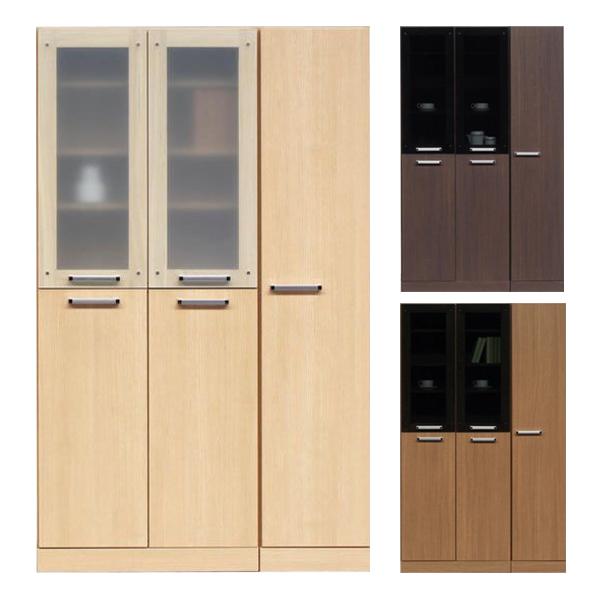 食器棚 キッチンボード ダイニングボード キッチン収納 幅110cm 開き戸 木製 完成品 シンプル モダン 通販