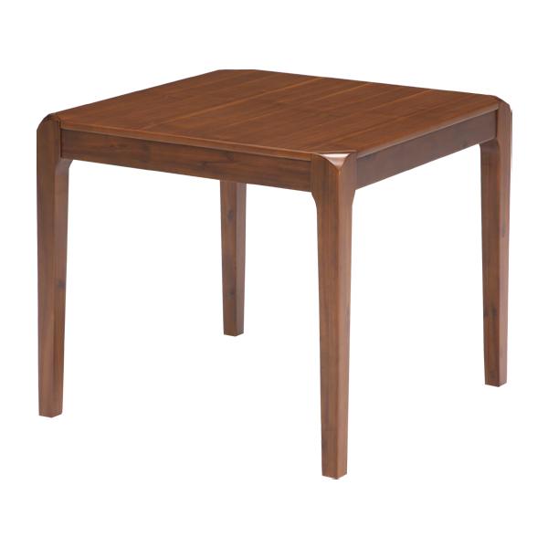 ダイニングテーブル テーブル 幅80cm ブラウン 奥行き80cm 高さ70cm テーブル単体 北欧 シンプル モダン おしゃれ 送料無料
