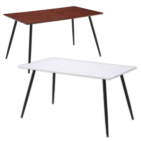 ダイニングテーブル テーブル 幅140cm 奥行80cm 高さ72cm ホワイト ウォールナット 選べる2色 テーブル単体 家具 インテリア 通販 送料無料