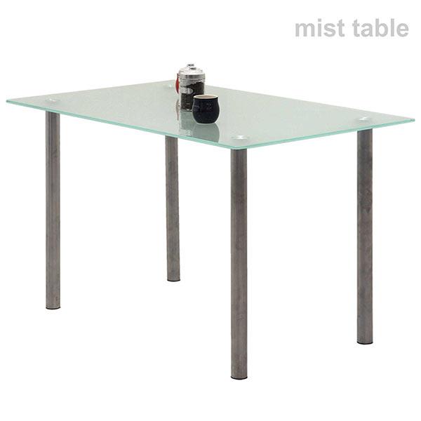 ガラス ダイニングテーブル テーブル 幅120cm ガラス天板 ダイニングテーブル単体 強化ガラス おしゃれ シンプル 北欧 モダン 送料無料