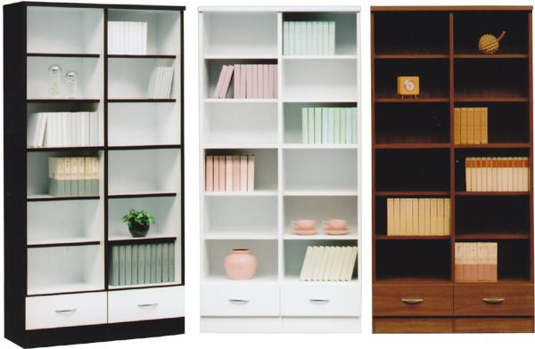 本棚 書棚 幅90 フリーボード ハイタイプ 日本製 3色対応 【家具通販】【送料無料】【smtb-ms】 通販