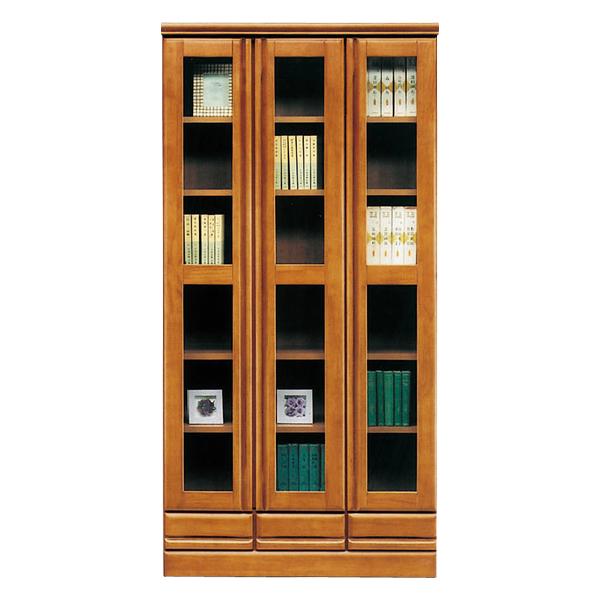本棚 書棚 幅90 高さ180cm ハイタイプ 国内産 木製 シンプル モダン 北欧 完成品 送料無料 通販