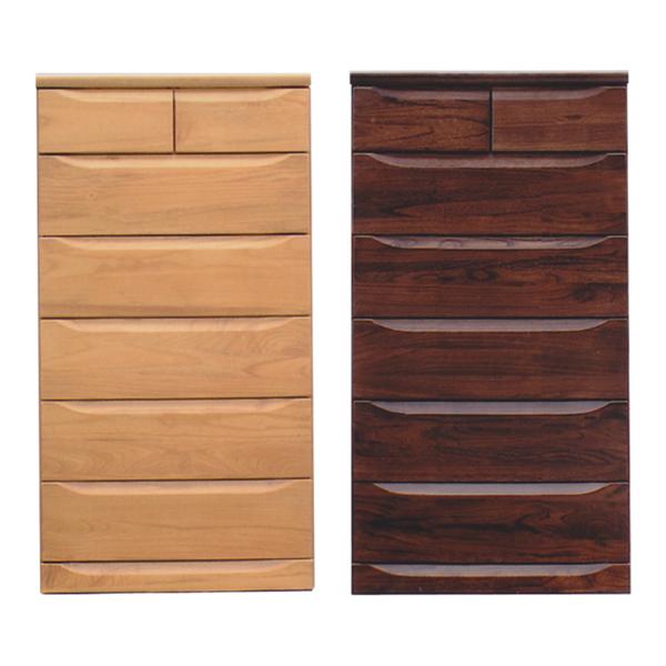 チェスト タンス ハイチェスト 幅75cm 6段 木製 シンプル モダン 桐材 国産 完成品 通販