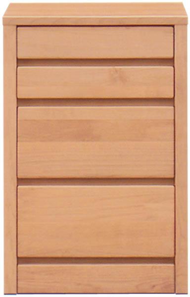 チェスト タンス ローチェスト スリムチェスト 隙間収納 幅45cm 4段 木製 シンプル ナチュラル 国産 完成品 アルダー材 通販