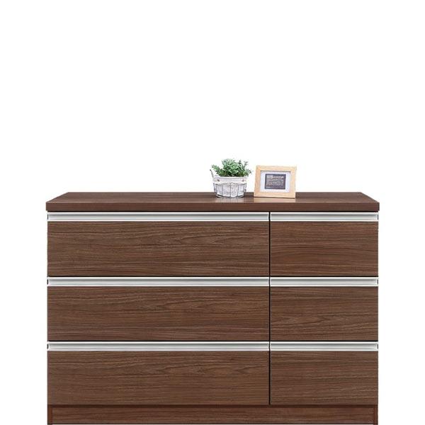 チェスト タンス ローチェスト 幅120cm 120幅 3段 シンプル 北欧 2色対応 UV塗装 木製 完成品 送料無料 通販