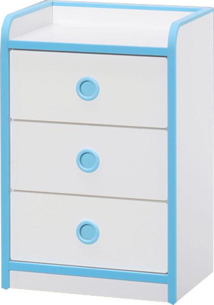 子供用 家具 ローチェスト 幅45 高さ70 子供服 タンス チェスト キッズ ホワイト ブルー ピンク 木製 北欧 完成品 送料無料 通販