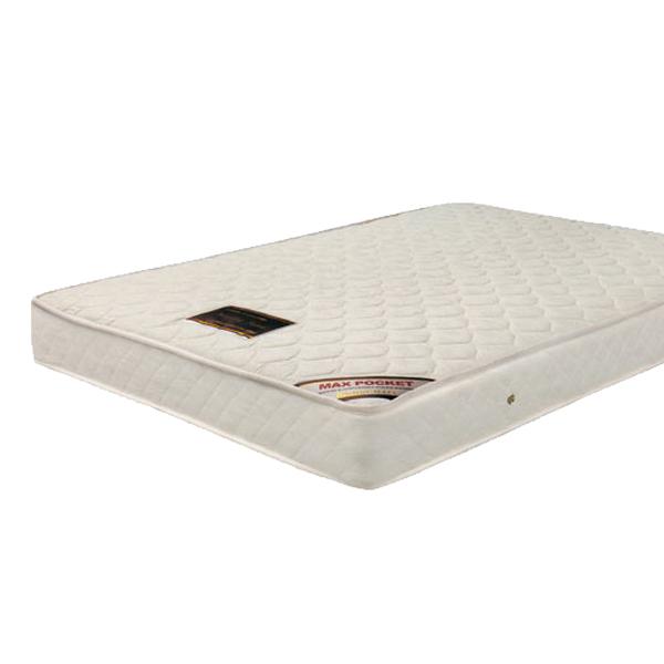 マットレス ダブル ポケットコイル 寝具 ホワイト 送料無料 通販