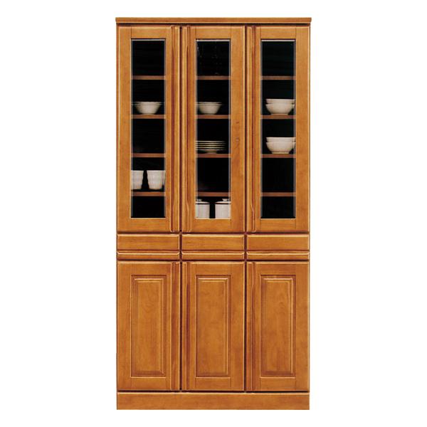 食器棚 幅90cm 木製 完成品 キッチンボード ダイニングボード キッチン収納 【ジェロシリーズ】 日本製 送料無料 通販