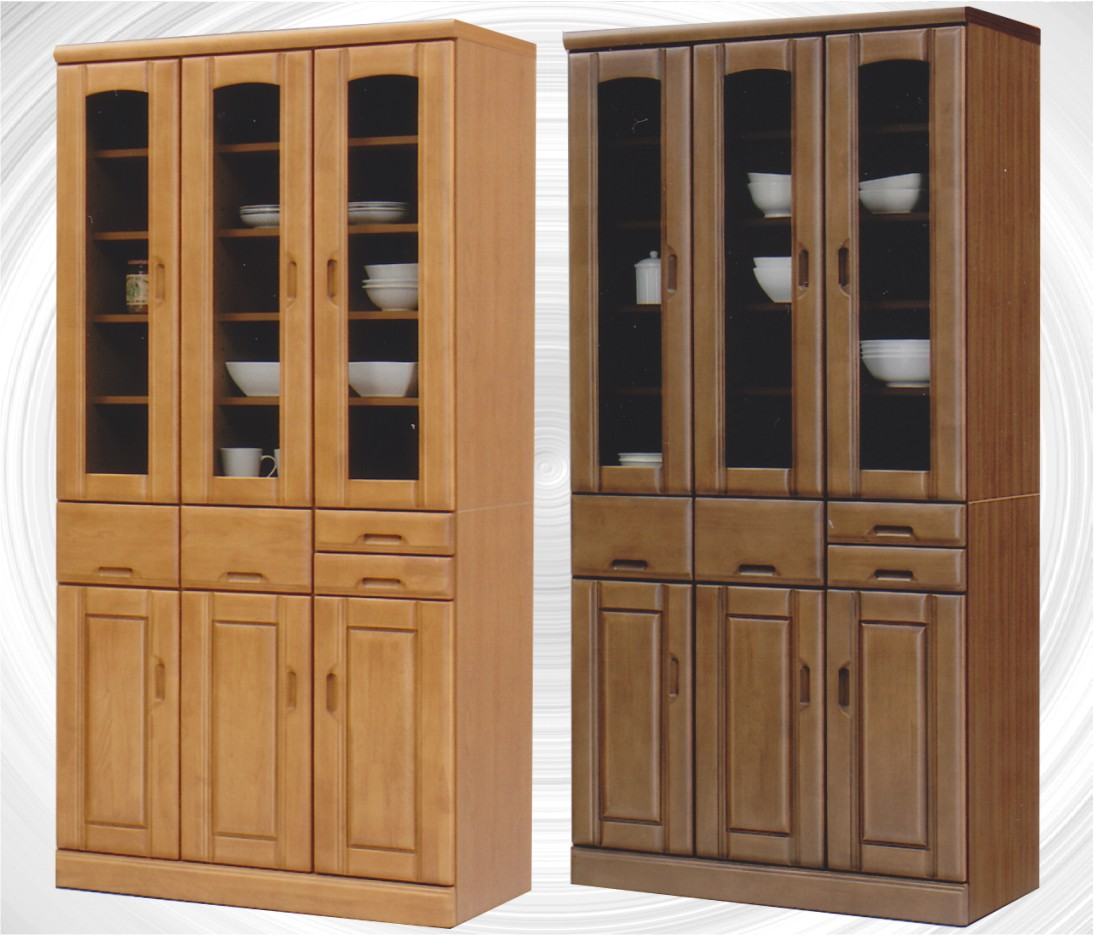 食器棚・キッチンボード 90 ダイニングボード | キッチン収納|ハイタイプ 【家具通販】【送料無料】【smtb-ms】 通販
