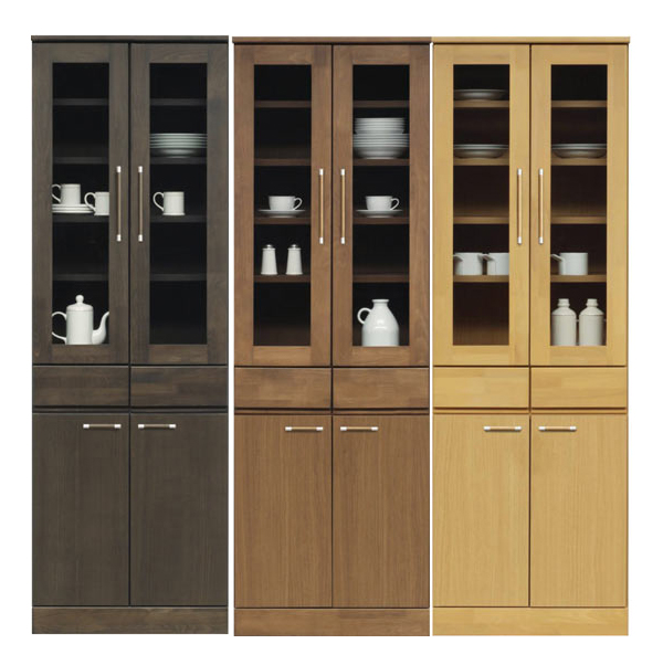 食器棚 キッチンボード ダイニングボード 幅60cm キッチン収納 開き戸 木製 完成品 家具通販 送料無料 通販