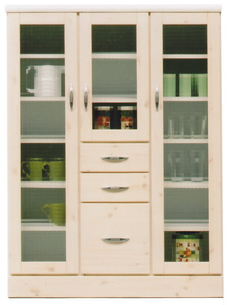 食器棚 キッチン収納 幅90cm モダン 北欧 木製 日本製 完成品 通販