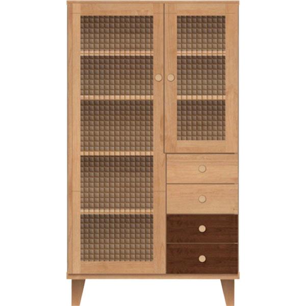 キャビネット 本棚 書棚 70幅 カラフル おしゃれ 収納 多目的収納 リビング 箱組 木製 脚付き 北欧 モダン 完成品 送料無料 通販