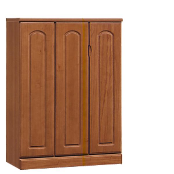 シューズボックス 下駄箱 90幅 高さ120 ナチュラル 玄関 収納 木製 完成品 送料無料 通販
