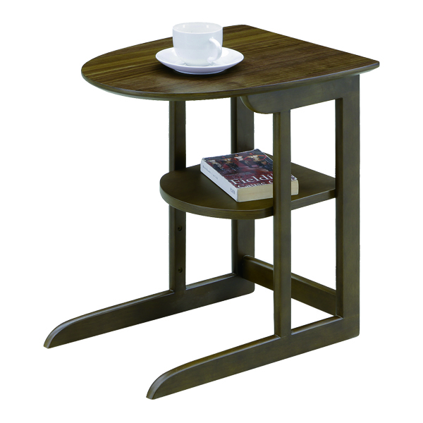 ナイトテーブル おしゃれ 丸型 幅37 高さ51 シンプル モダンテイスト 北欧 ナチュラル ブラウン ミニテーブル 木製 ナイトテーブル リビング 収納棚付き 寝室 ベットサイド 完成品 送料無料