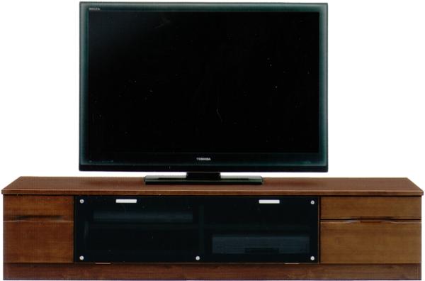 180 テレビ台   TVボード【送料無料】■色はナチュラル色とブラウン色の2色対応【家具通販】AV収納(テレビ・CD・オーディオ収納)【smtb-ms】 通販