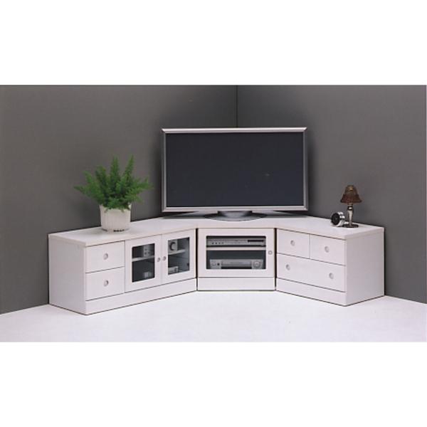 テレビ台 テレビボード 3点セット 2色対応 高さ44 コーナー リビング収納 木製 完成品 送料無料 通販