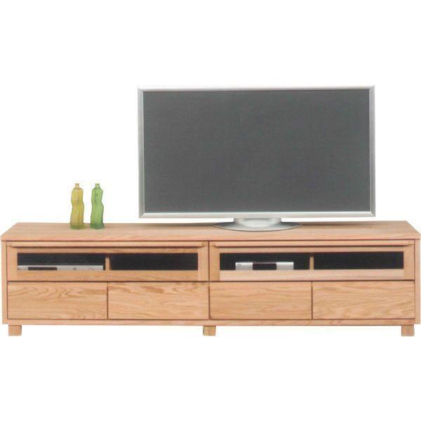 テレビ台 ローボード 幅200 ナチュラル ブラウン おしゃれ 収納家具 北欧 木製 完成品 送料無料 通販