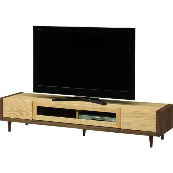 テレビ台 ローボード 幅180 ナチュラル ブラウン おしゃれ 収納家具 AV収納 脚付き 北欧 木製 完成品 送料無料 通販