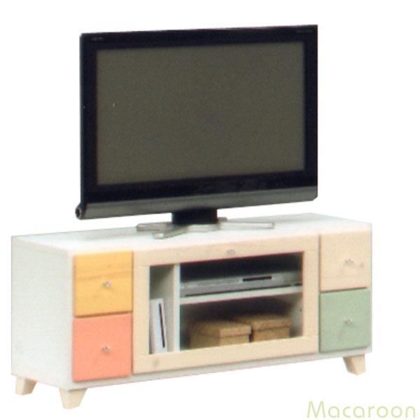 テレビ台 テレビボード ローボード 幅100cm 木製 完成品 シンプル モダン パイン材 AV収納 通販