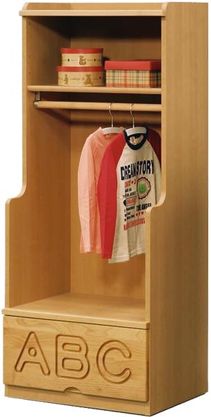 キッズ家具 ワードロープ ハンガーラック 服吊り 幅60cm 子供部屋 子供家具 木製 無垢 シンプル ナチュラル 日本製 完成品 送料無料 通販