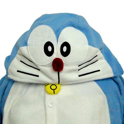 着ぐるみ ドラえもん 着ぐるみ(フリース)BAN-049 旧BAN-002ハロウィン ハロウィーン 衣装 変装 変身 コスチューム コスプレ 仮装 学祭 USJ 忘年会 イベント キグルミ きぐるみ