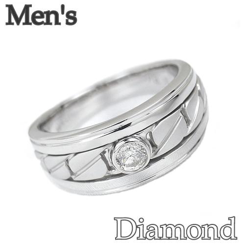 ダイヤモンドリング ダイヤモンド プラチナ メンズサイズ リング SP435