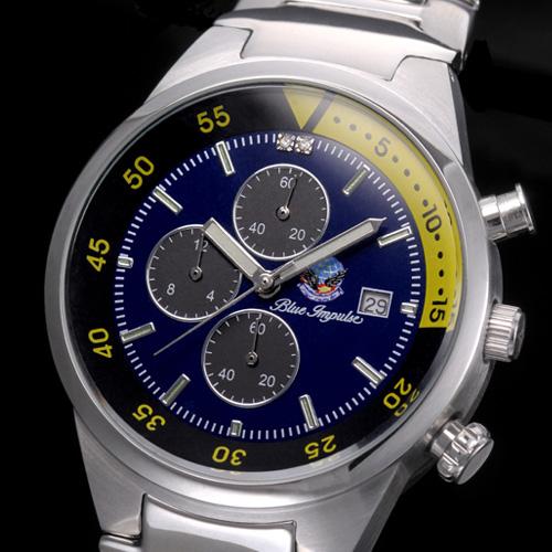 航空自衛隊 ブルーインパルス クロノグラフ時計