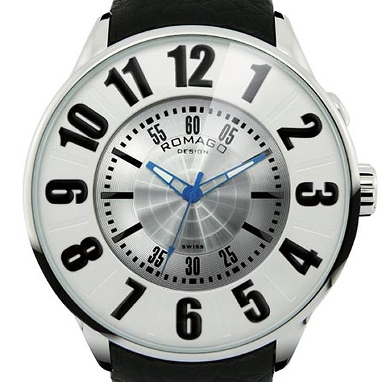 【ロマゴデザイン】腕時計 RM007-0053ST-SVユニセックス メンズ レディース ROMAGODESIGN 正規品 新作 人気 流行 ブランド