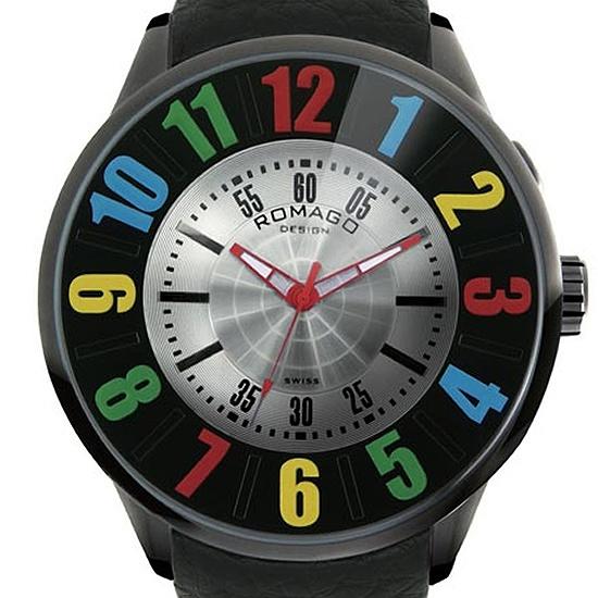 【ロマゴデザイン】腕時計 RM007-0053ST-RDユニセックス メンズ レディース ROMAGODESIGN 正規品 新作 人気 流行 ブランド