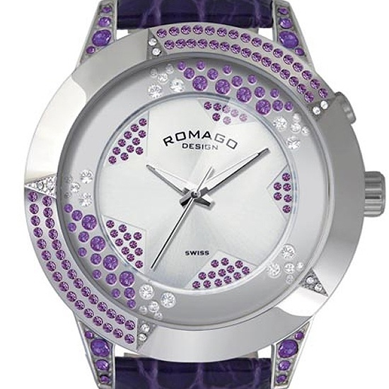 【ロマゴデザイン】腕時計 RM011-1476SV-PUユニセックス メンズ レディース ROMAGODESIGN 正規品 新作 人気 流行 ブランド