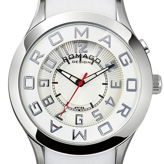 【ロマゴデザイン】腕時計 RM015-0162PL-SVWHユニセックス メンズ レディース ROMAGODESIGN 正規品 新作 人気 流行 ブランド
