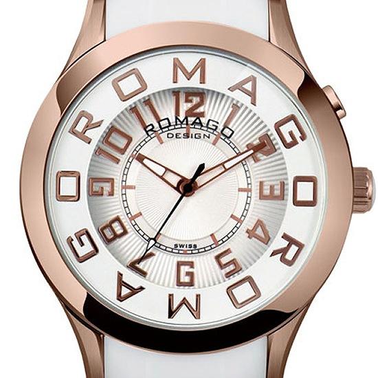 【ロマゴデザイン】腕時計 RM015-0162PL-RGWHユニセックス メンズ レディース ROMAGODESIGN 正規品 新作 人気 流行 ブランド