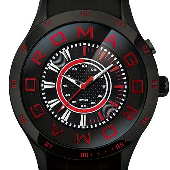 【ロマゴデザイン】腕時計 RM015-0235PL-BKユニセックス メンズ レディース ROMAGODESIGN 正規品 新作 人気 流行 ブランド