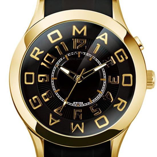 【ロマゴデザイン】腕時計 RM015-0162PL-GDBKユニセックス メンズ レディース ROMAGODESIGN 正規品 新作 人気 流行 ブランド