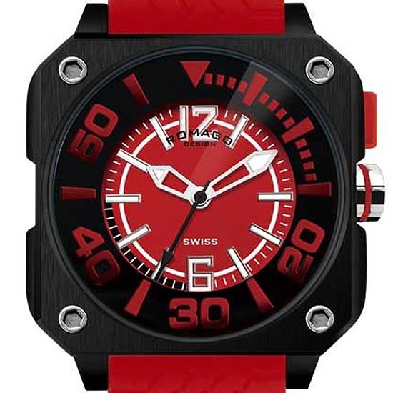 【ロマゴデザイン】腕時計 RM018-0073PL-RDユニセックス メンズ レディース ROMAGODESIGN 正規品 新作 人気 流行 ブランド