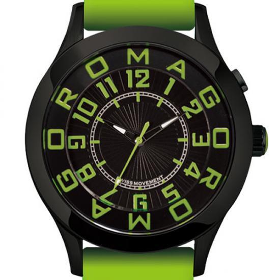 【ロマゴデザイン】腕時計 RM015-0162ST-LUGRユニセックス メンズ レディース ROMAGODESIGN 正規品 新作 人気 流行 ブランド