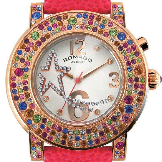 【ロマゴデザイン】腕時計 RM013-1607ST-RDユニセックス メンズ レディース ROMAGODESIGN 正規品 新作 人気 流行 ブランド