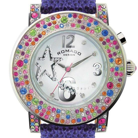 【ロマゴデザイン】腕時計 RM013-1607ST-PUユニセックス メンズ レディース ROMAGODESIGN 正規品 新作 人気 流行 ブランド